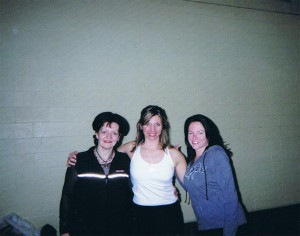 Louyse with Laura Warf and Lynn St-Pierre