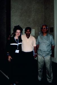 Louyse, Kaustub and TKV Desikachar in a teacher's training in Miami, Florida