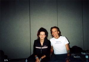 Louyse and David Life from Jivamukti at the Yoga Show Conference in Toronto, Canada