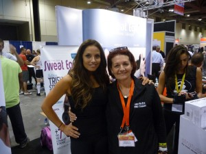 Trish Stratus (Stratusphere Yoga and Louyse)