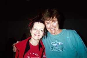 Louyse with Lilias Folan from LILIAS YOGA