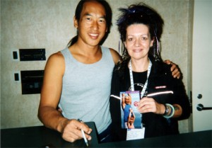 Louyse and Rodney Yee at the Omega Conference in Miami, Florida