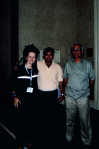 Louyse, Kaustub and TKV Desikachar in a teacher's training in Miami, Florida