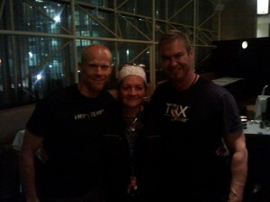 Louyse and MASTER TRAINERS FROM TRX